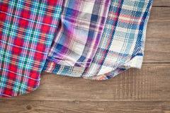 Tartan fabrics Royalty Free Stock Image