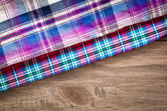 Tartan fabrics Royalty Free Stock Images