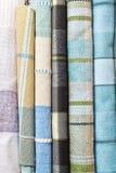 Tartan fabrics Stock Photos