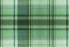 Tartan Green pattern - Plaid Clothing Table Royalty Free Stock Photos
