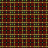 Tartan pattern. In autumn color Stock Images
