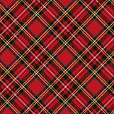 Tartan pattern background.eps. Tartan, plaid pattern background.Folk Retro style.Fashion illustration,vector Wallpaper.Christmas,new year  decor.Traditional red Royalty Free Stock Photos