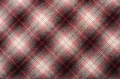Tartan pattern. Pink plaid print as background. Stock Photography