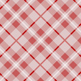 Tartan pattern, red loincloth, background vector Stock Photo