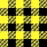 Tartan pattern. Scottish cage. Scottish yellow checkered background. Scottish plaid in yellow colors. Seamless fabric texture. Eps10 stock illustration