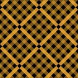 Tartan pattern. Scottish cage. Scottish yellow checkered background. Scottish plaid in yellow colors. Seamless fabric. Texture. Vector illustration eps10 royalty free illustration