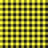 Tartan pattern. Scottish cage. Scottish yellow checkered background. Scottish plaid in yellow colors. Seamless fabric texture. Eps10 vector illustration
