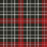 Tartan pixel plaid seamless fabric texture. Vector illustration Stock Photo
