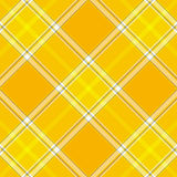 Tartan Plaid. Yellow High resolution plaid fabric Royalty Free Stock Photo