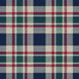 Tartan plaid classic pixel fabric texture seamless pattern Stock Photography