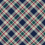 Tartan plaid classic pixel fabric texture seamless pattern Stock Photo