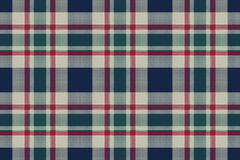 Tartan plaid classic pixel fabric texture seamless pattern. Flat design. Vector illustration Royalty Free Stock Photo