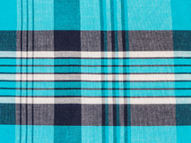 Tartan plaid cotton fabric Stock Photography