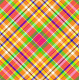 Tartan Plaid Fabric Stock Image