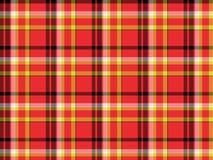 Tartan plaid fabric pattern Stock Image