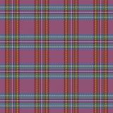 Tartan plaid. Pattern Scottish cage. Tartan plaid. Scottish pattern in black, green and purpure cage. Scottish cage. Traditional Scottish checkered background royalty free illustration