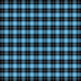 Tartan plaid. Pattern Scottish cage. Tartan plaid. Scottish pattern in black, white and blue cage. Scottish cage. Traditional Scottish checkered background stock illustration