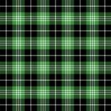 Tartan plaid. Pattern Scottish cage. Tartan plaid. Scottish pattern in black, white and green cage. Scottish cage. Traditional Scottish checkered background royalty free illustration