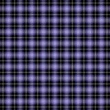 Tartan plaid. Pattern Scottish cage. Tartan plaid. Scottish pattern in black, white and violet cage. Scottish cage. Traditional Scottish checkered background stock illustration