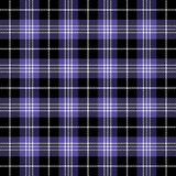 Tartan plaid. Pattern Scottish cage. Tartan plaid. Scottish pattern in black, white and violet cage. Scottish cage. Traditional Scottish checkered background royalty free illustration