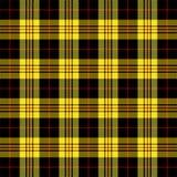 Tartan plaid. Pattern Scottish cage. Tartan plaid. Scottish pattern in black, yellow and red cage. Scottish cage. Traditional Scottish checkered background stock illustration