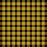 Tartan plaid. Pattern Scottish cage. Tartan plaid. Scottish pattern in black, yellow and red cage. Scottish cage. Traditional Scottish checkered background vector illustration