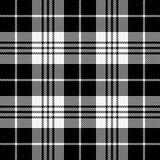 Tartan plaid. Pattern Scottish cage. Tartan plaid. Scottish pattern in black and white cage. Scottish cage. Traditional Scottish checkered background. Seamless royalty free illustration