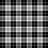 Tartan plaid. Pattern Scottish cage. Tartan plaid. Scottish pattern in black and white cage. Scottish cage. Traditional Scottish checkered background. Seamless vector illustration
