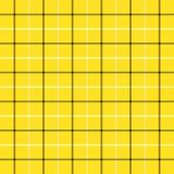 Tartan plaid. Pattern Scottish cage. Tartan Tattersalls plaid. Scottish pattern in black and yellow cage. Scottish cage. Traditional Scottish checkered stock illustration