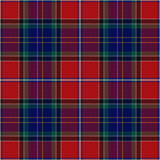 Tartan plaid pattern Royalty Free Stock Photography