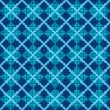 Tartan, plaid seamless pattern, diagonal background. Wallpaper, wrapping paper, textile.Retro style. stock illustration
