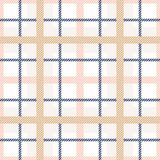 Tartan plaid seamless pattern. Pastel colors tartan vector background. royalty free illustration
