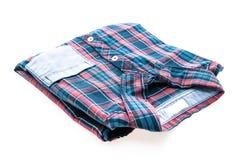 Tartan or Plaid shirt Royalty Free Stock Photo