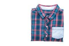 Tartan or Plaid shirt Stock Photography