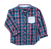 Tartan or Plaid shirt Royalty Free Stock Photography