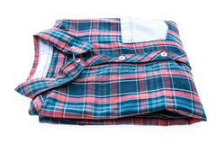 Tartan or Plaid shirt Stock Photos
