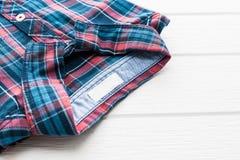 Tartan or Plaid shirt Stock Images