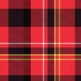 Tartan plaid texture Stock Photography