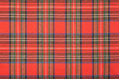 Tartan plaid texture Royalty Free Stock Photos