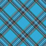 Tartan Plaid Vector Pattern Background with Fabric Texture Stock Photos