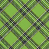 Tartan Plaid Vector Pattern Background with Fabric Texture. EPS 10 Royalty Free Stock Photos