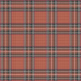 Tartan Plaid Vector Pattern Background with Fabric Texture. EPS Royalty Free Stock Photos