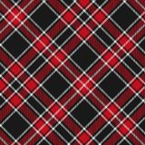 Tartan, Red and Black plaid pattern seamless.Texture for plaid, tablecloths, clothes, shirts, dresses, paper, bedding, blankets, stock illustration