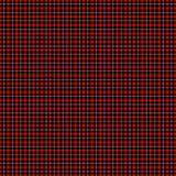Tartan rouge et noir et blanc illustration de vecteur