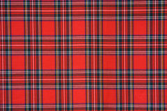 tartan royal de Stewart Images libres de droits