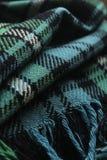 Tartan rug. Close up of a traditional Scottish tartan rug Royalty Free Stock Photos