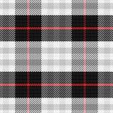 Tartan sans couture d'écossais de modèle de vecteur Images libres de droits