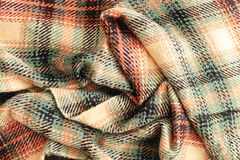 Tartan scarf Royalty Free Stock Photography