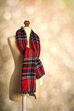 Tartan Scarf Stock Photos