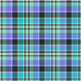 Tartan seamless background Stock Images